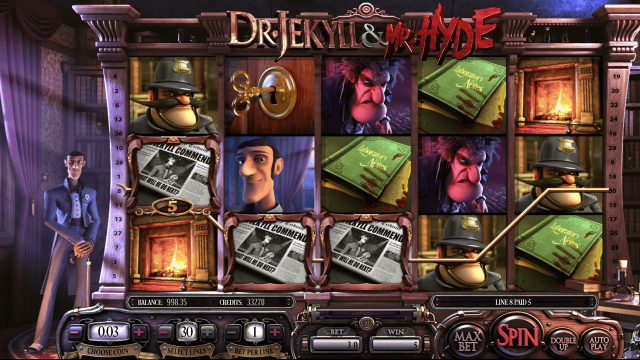 Бонусная игра Dr. Jekyll And Mr. Hyde 2