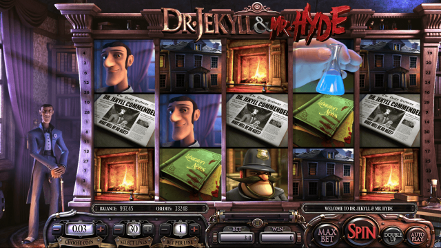 Бонусная игра Dr. Jekyll And Mr. Hyde 5