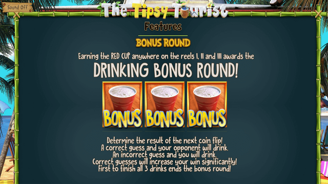 Бонусная игра The Tipsy Tourist 4