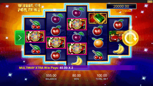 Бонусная игра Wheel Of Fortune: Triple Extreme Spin 10