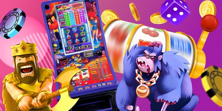 Все про ігрові автомати в українських онлайн казино